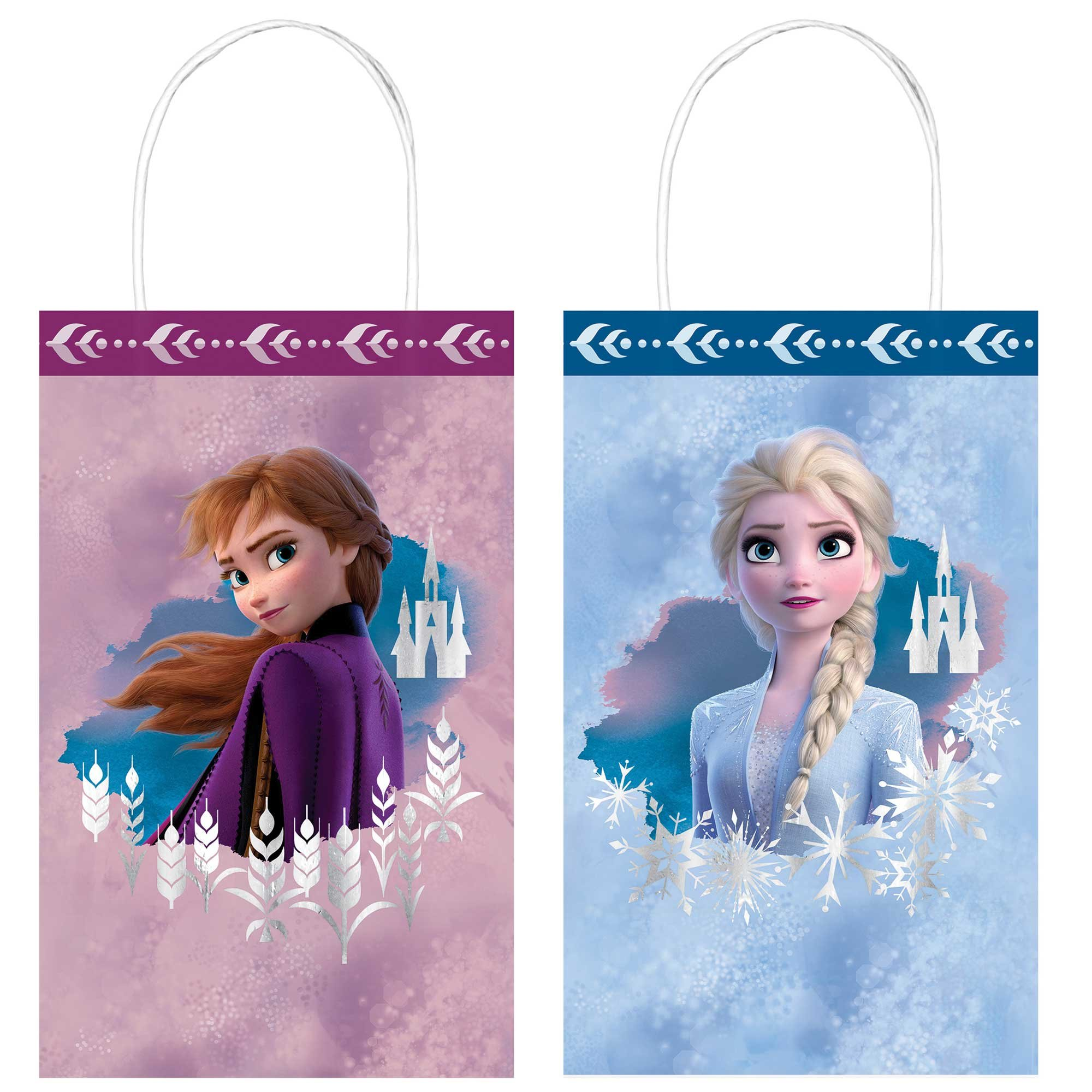 Frozen 2 Kraft Paper Gift Bags