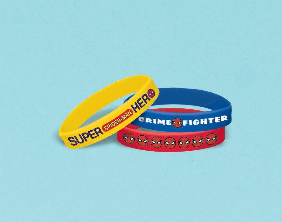 Spider-Man Webbed Wonder Rubber Bracelets