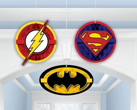 Justice League Honeycomb Decoration