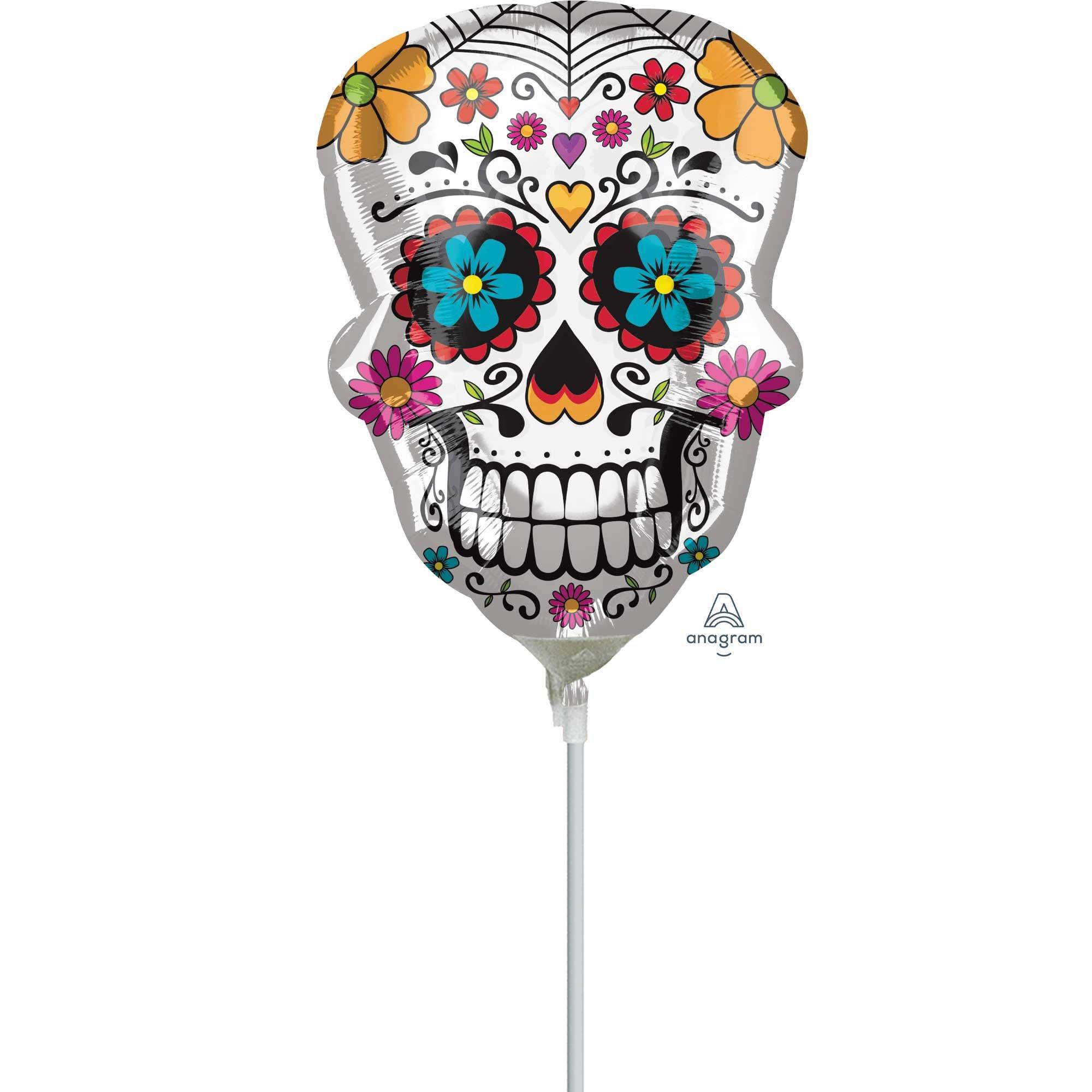 Mini Shape Day of the Dead Sugar Skull A30