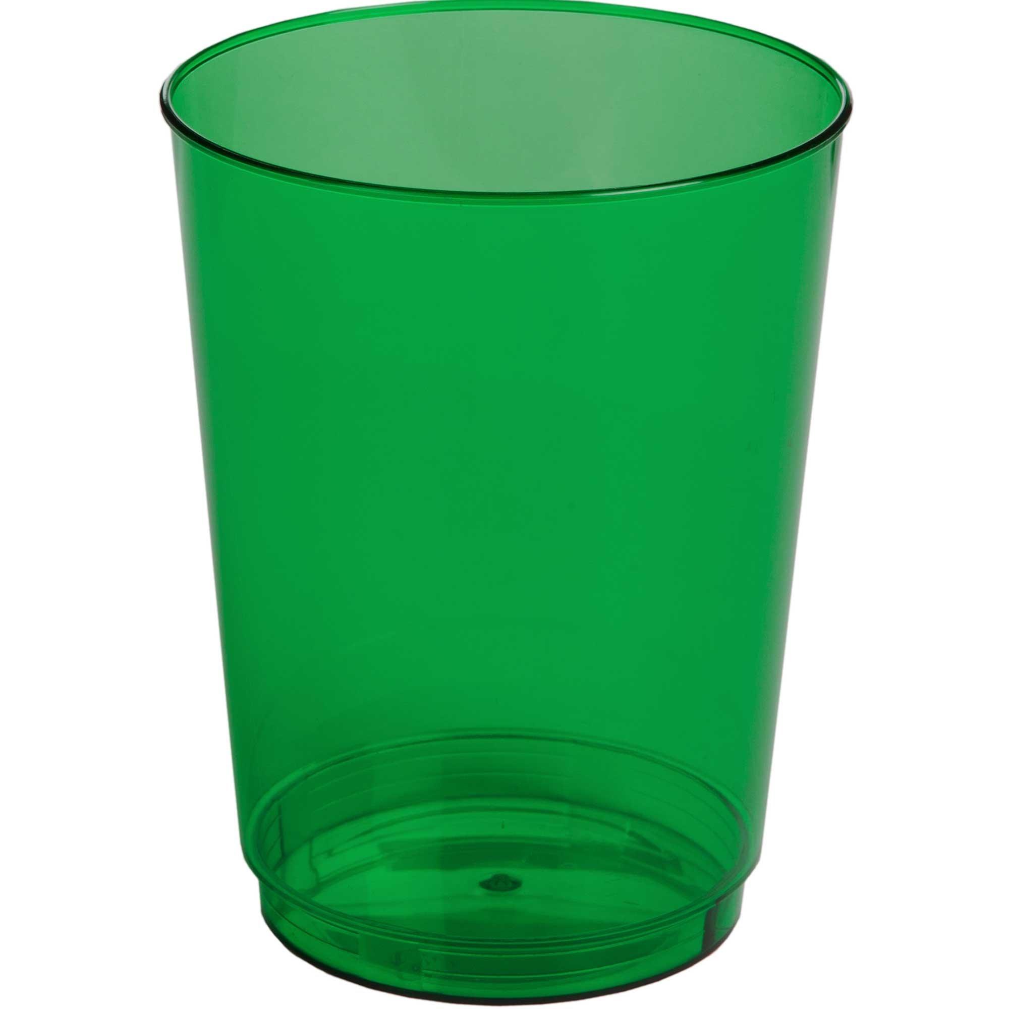 Big Party Pack 10oz/295ml Plastic Tumbler Festive Green