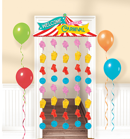 Carnival Games Door Curtain Welcome To The Carnival