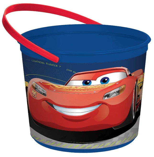 Cars 3 Plastic Favor Container
