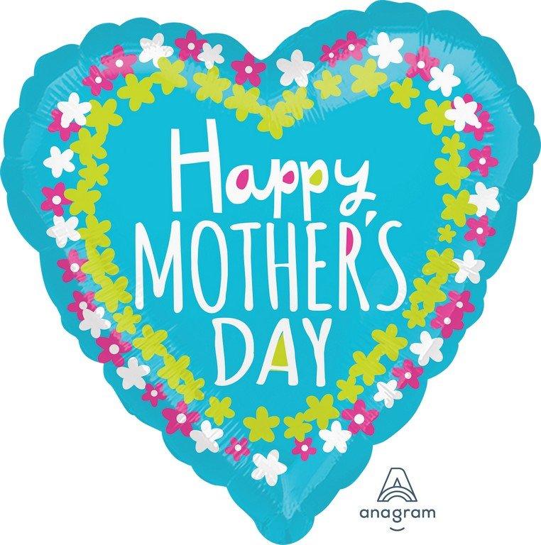 45cm Standard HX Happy Mother's Day Flower Frame S40