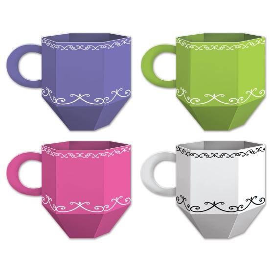 Tea Cup Favor Boxes or Centrepieces