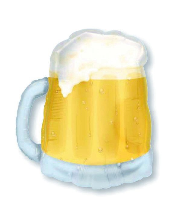 SuperShape See-Thru Transparent Beer Mug P35