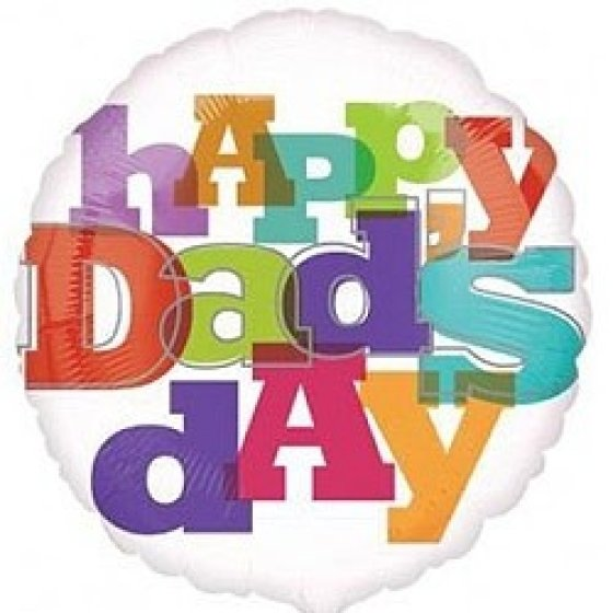 45cm Standard XL Happy Dad's Day S40