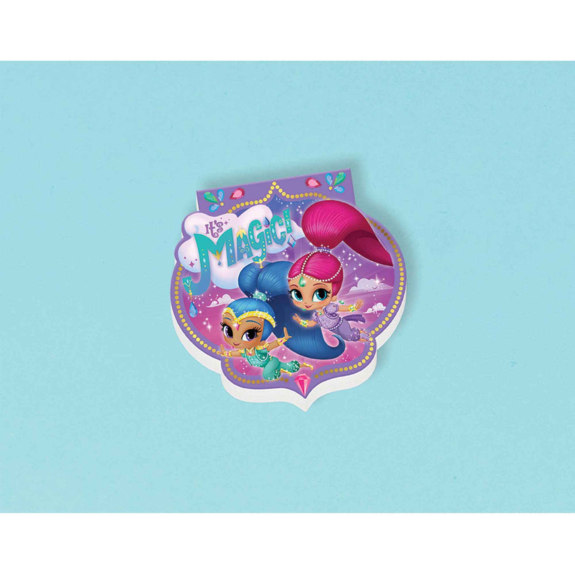 Shimmer and Shine Die Cut Notepad Favor