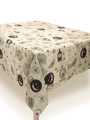 Spooks & Spells Fabric Tablecover