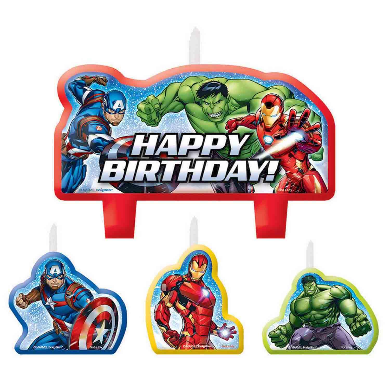 Avengers Epic Birthday Candle Set
