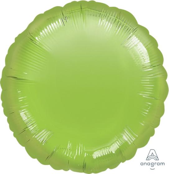 45cm Standard HX Circle Metallic Lime Green S15