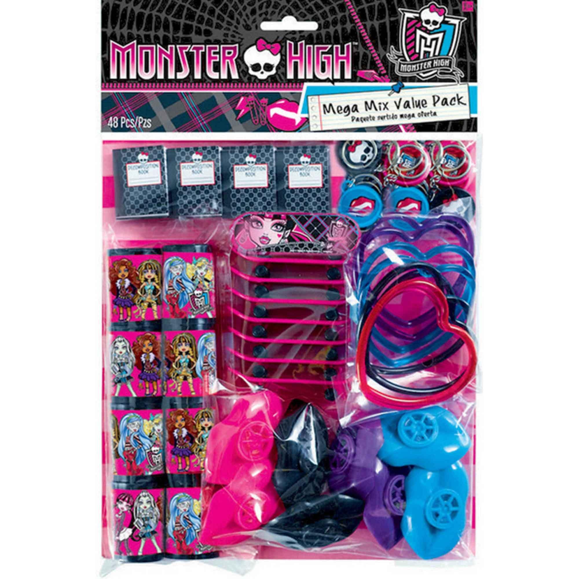 Monster High Mega Mix Value Pack Favors