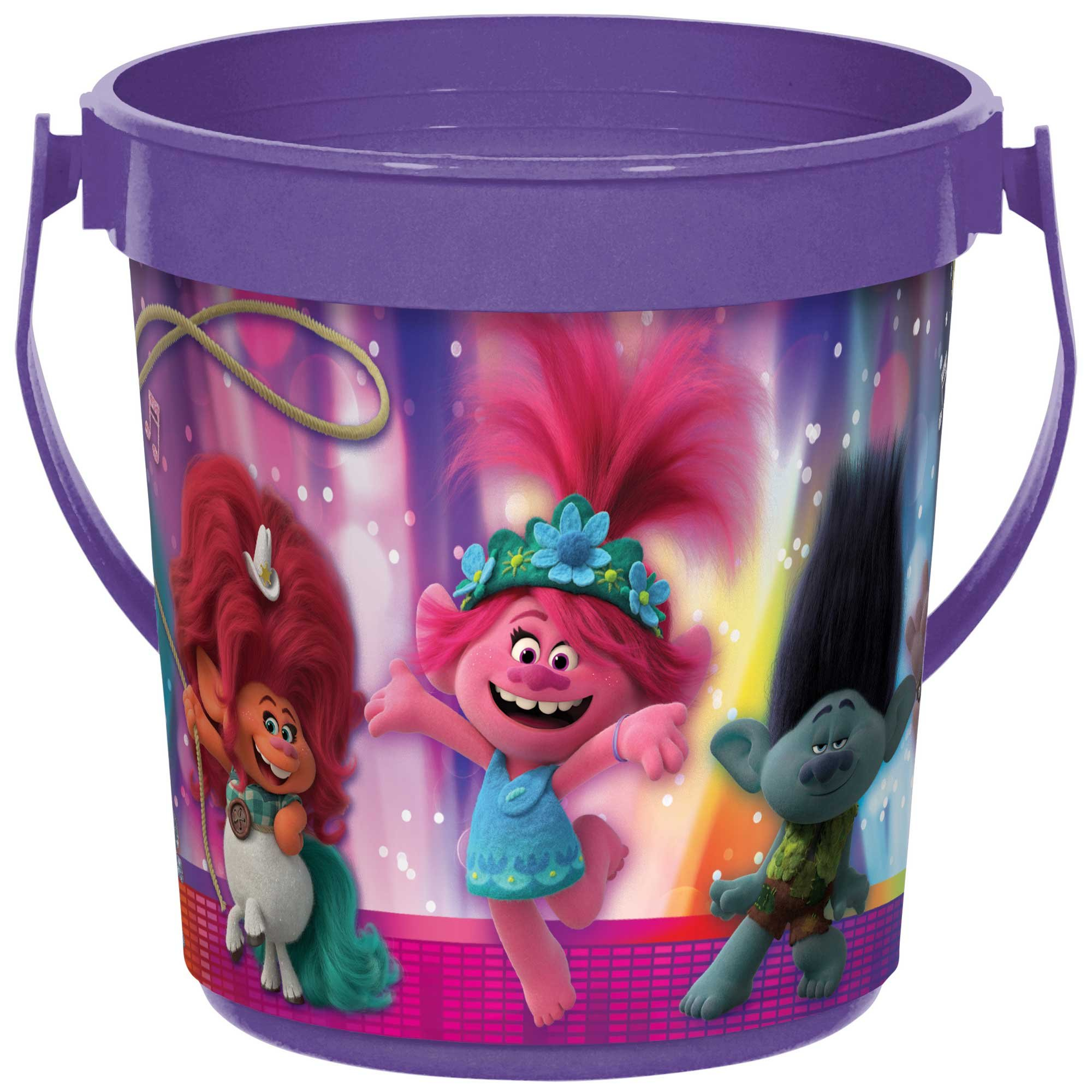 Trolls World Tour Favor Container