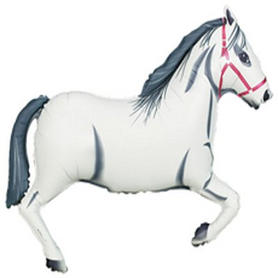 Shape Horse White 109cm