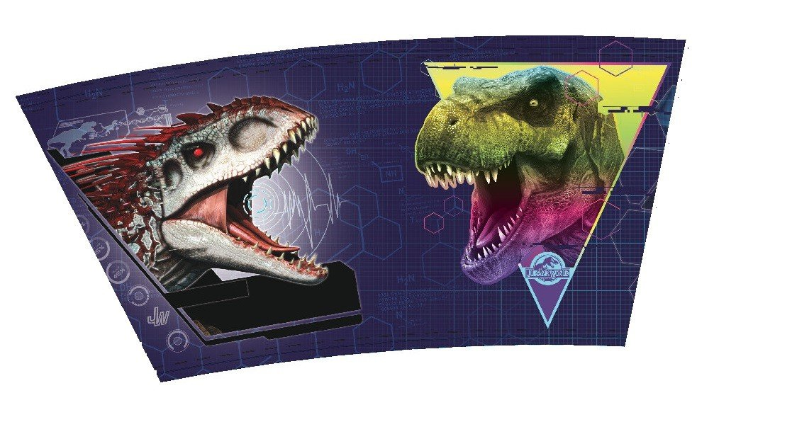 Jurassic World Favor Container - Plastic