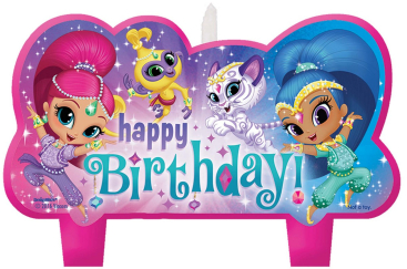 Shimmer and Shine Candle Birthday Set