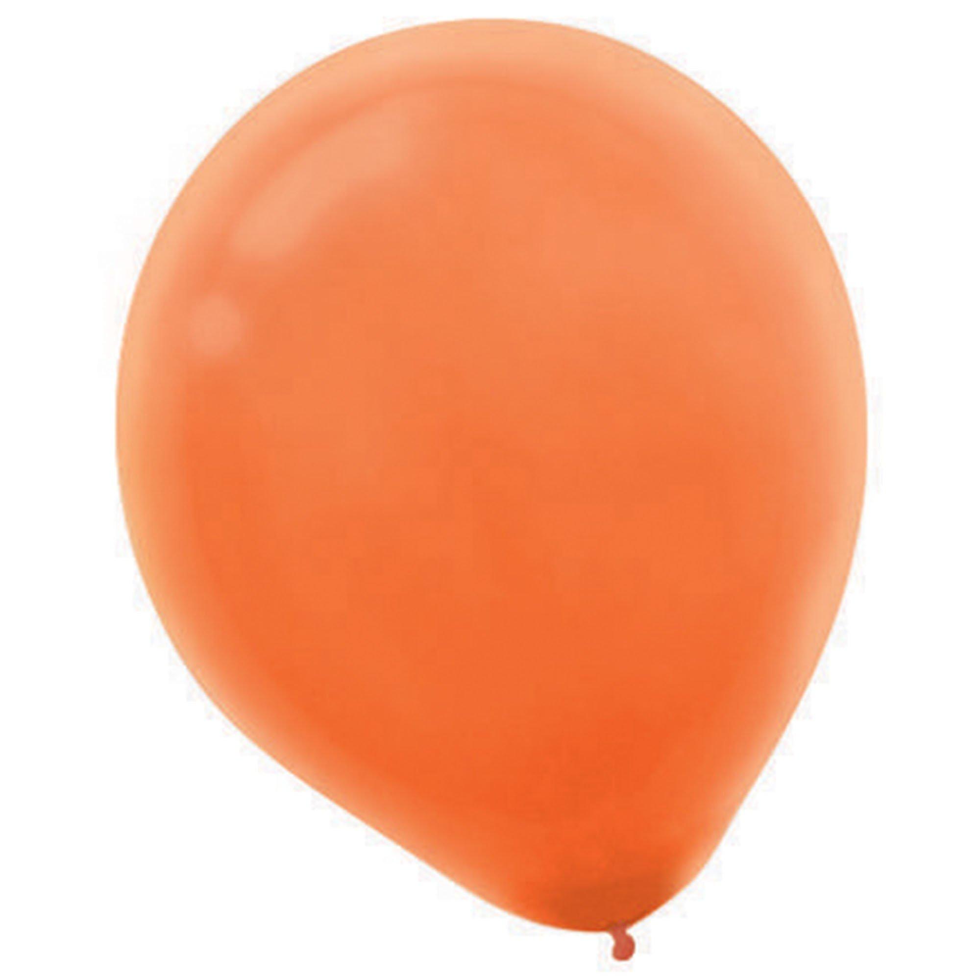 Latex Balloons 30cm 72CT Orange Peel