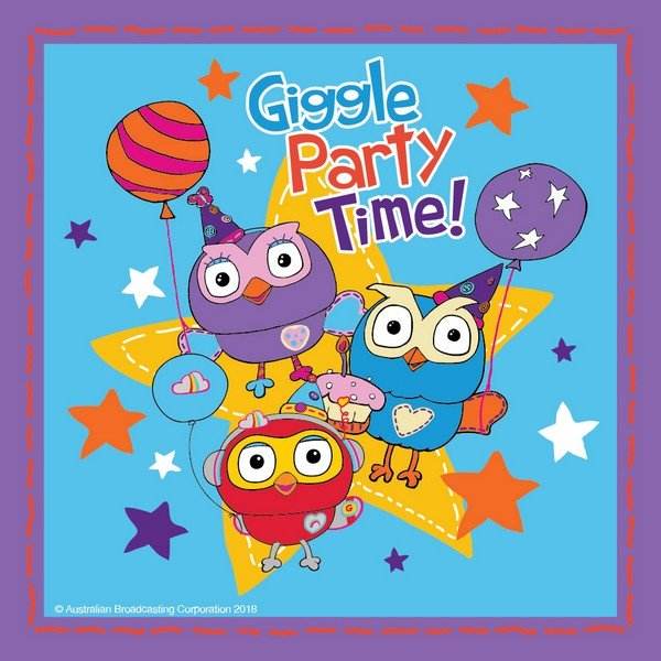 Giggle and Hoot Lunch Napkins