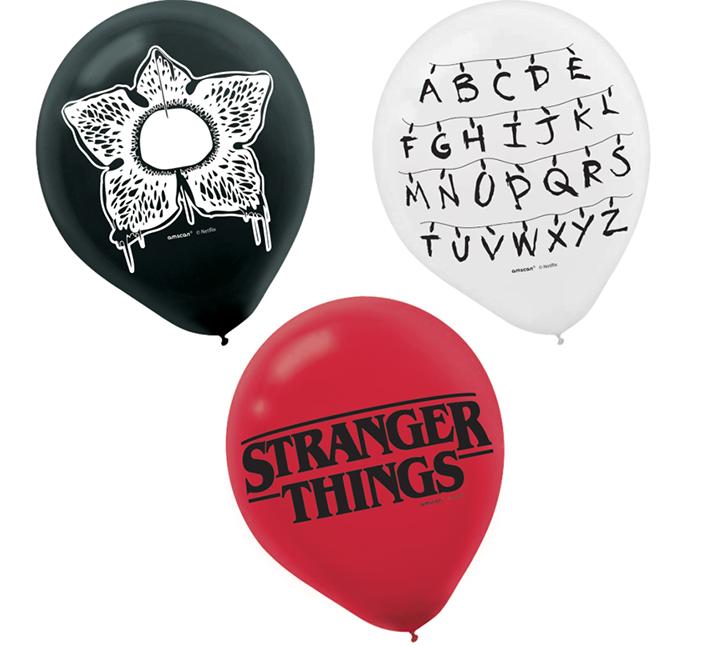 Stranger Things 30cm Latex Balloons 6PK