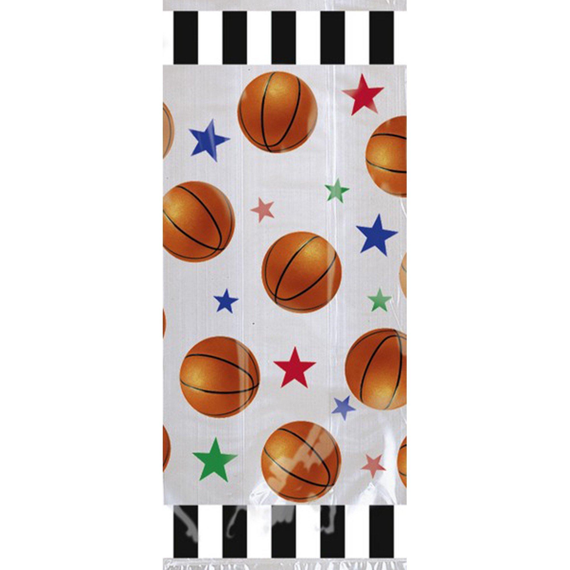 Basketball Fan Cello Party Bags