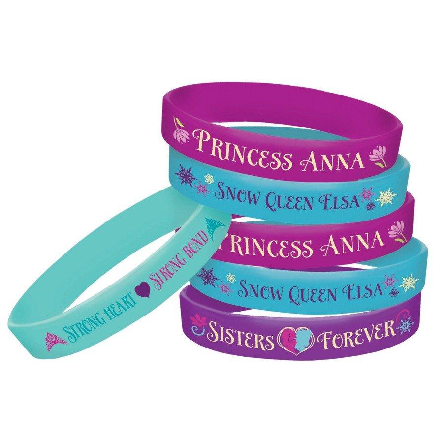 Frozen Rubber Bracelets Favors
