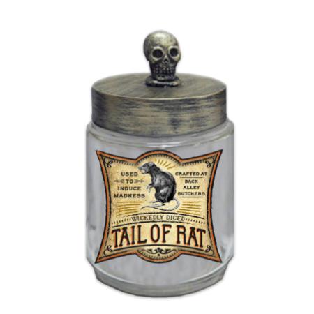 Skull Head Apothecary Jar