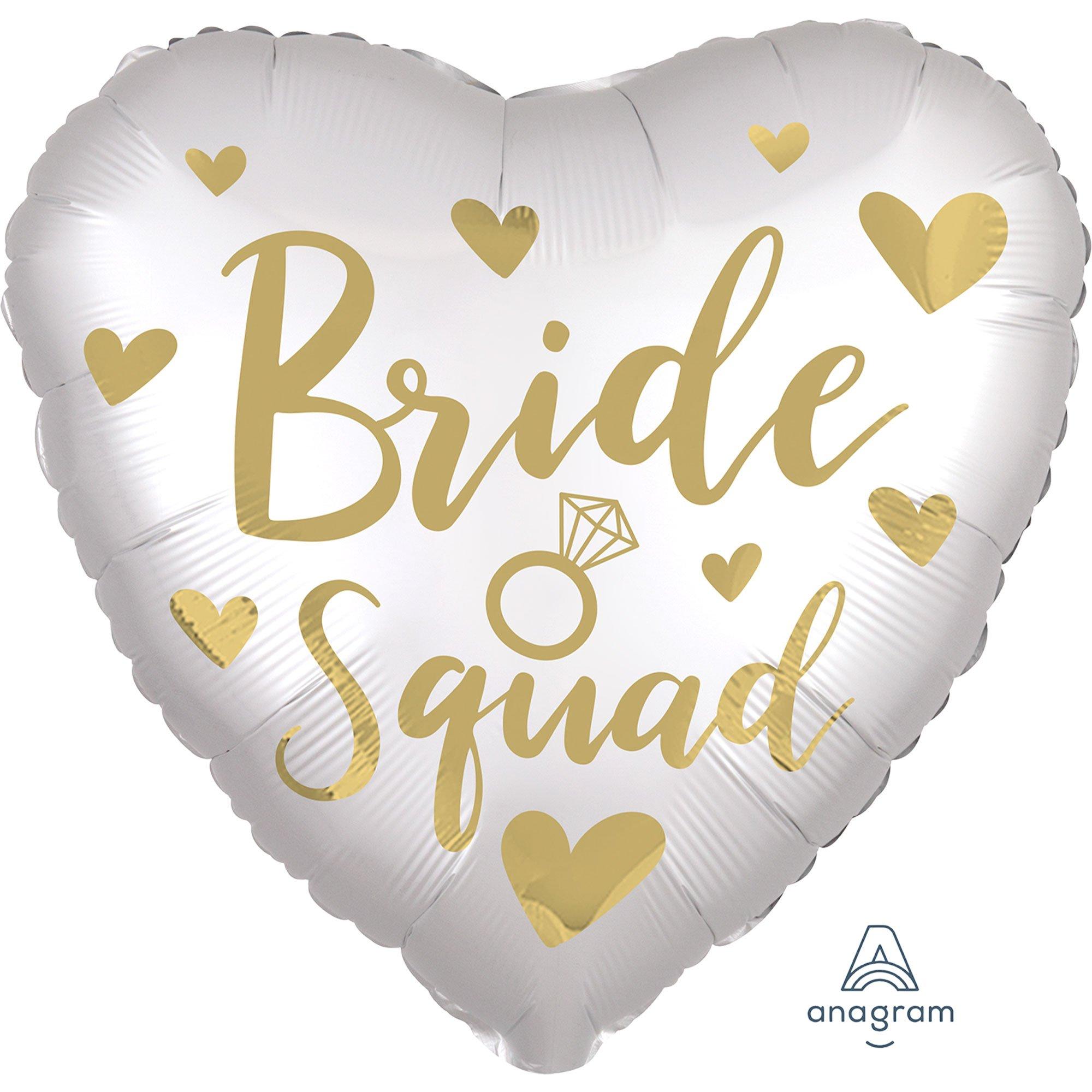 45cm Standard XL Satin Bride Squad S40