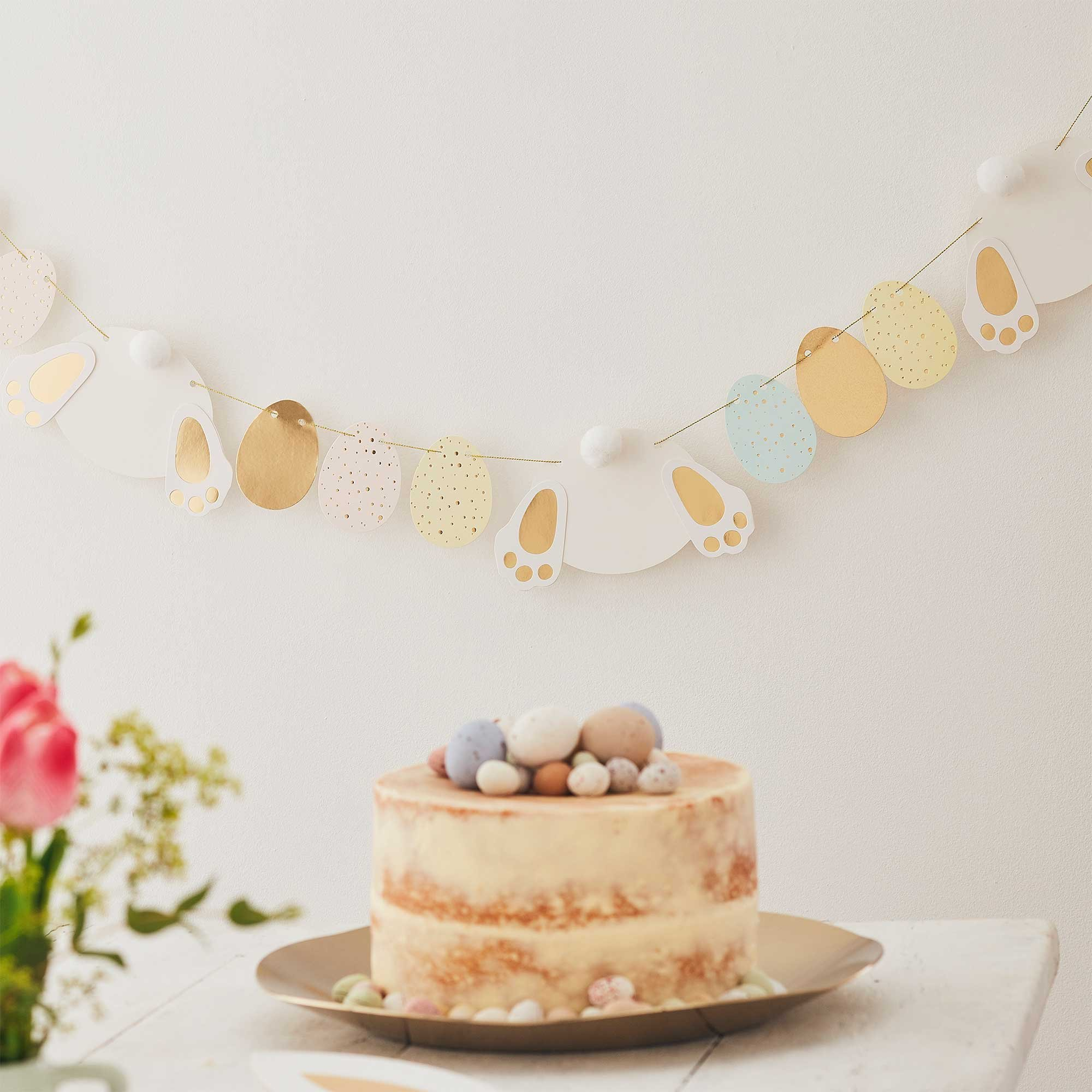 Ginger Ray Easter Bunny & Eggs Garland