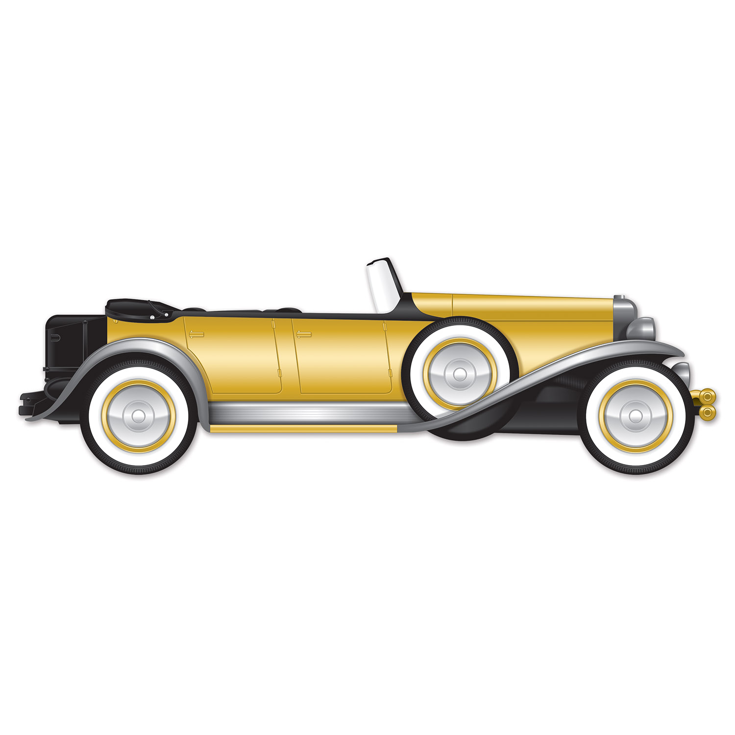 Great 20's Roadster Jointed Car Cutout