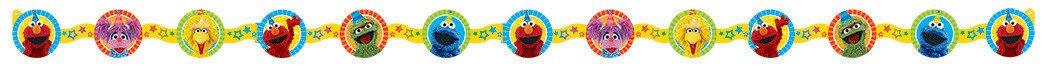 Sesame Street Die Cut Paper Garland