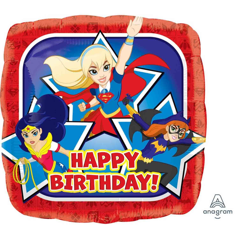45cm Standard HX DC Super Hero Girls Birthday S60
