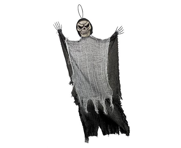 Large Black Reaper Hanging Prop Decoration Fabric & Plastic NEW DESIGN
