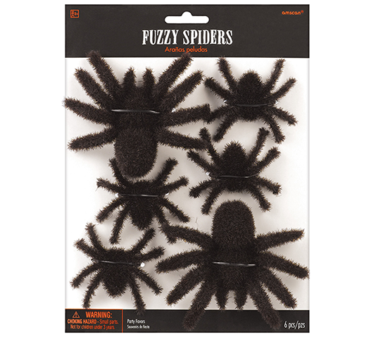 Fuzzy Hairy Spiders Favors