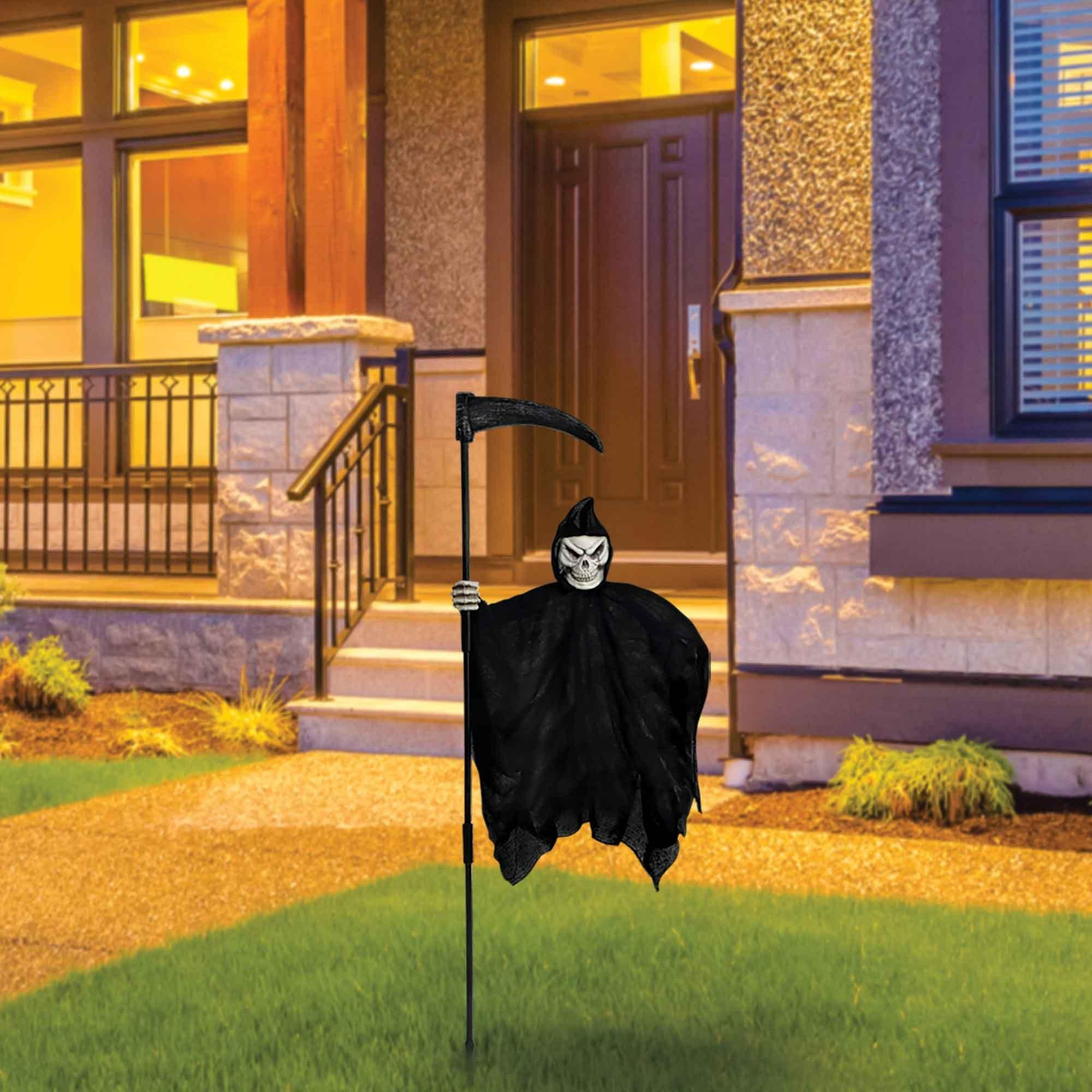 Grim Reaper Illusion Yard Stake 1.37m