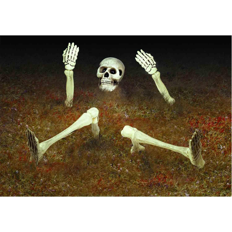 Groundbreaker Yard Skeleton Decoration Plastic
