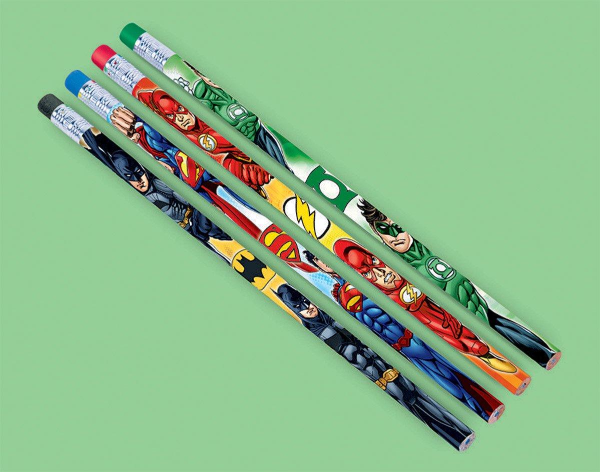 Justice League Pencil Favors