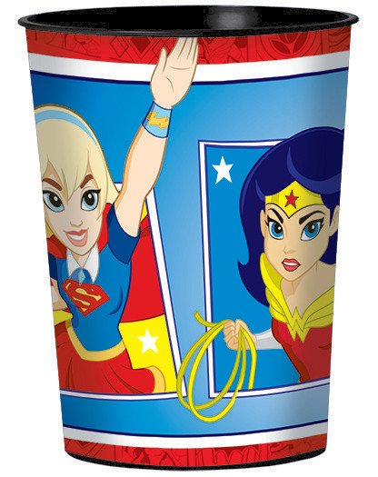 DC Superhero Girls 473ml Favor Cup - Plastic