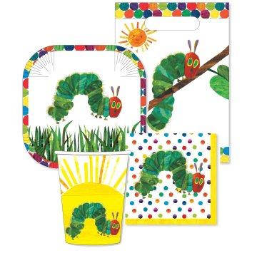 The Very Hungry Caterpillar 40 Piece Party Pack Boxed Set