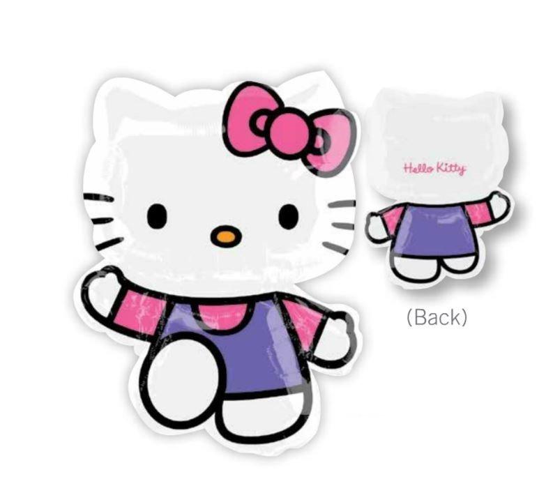 SuperShape XL Hello Kitty Pink & Purple P38