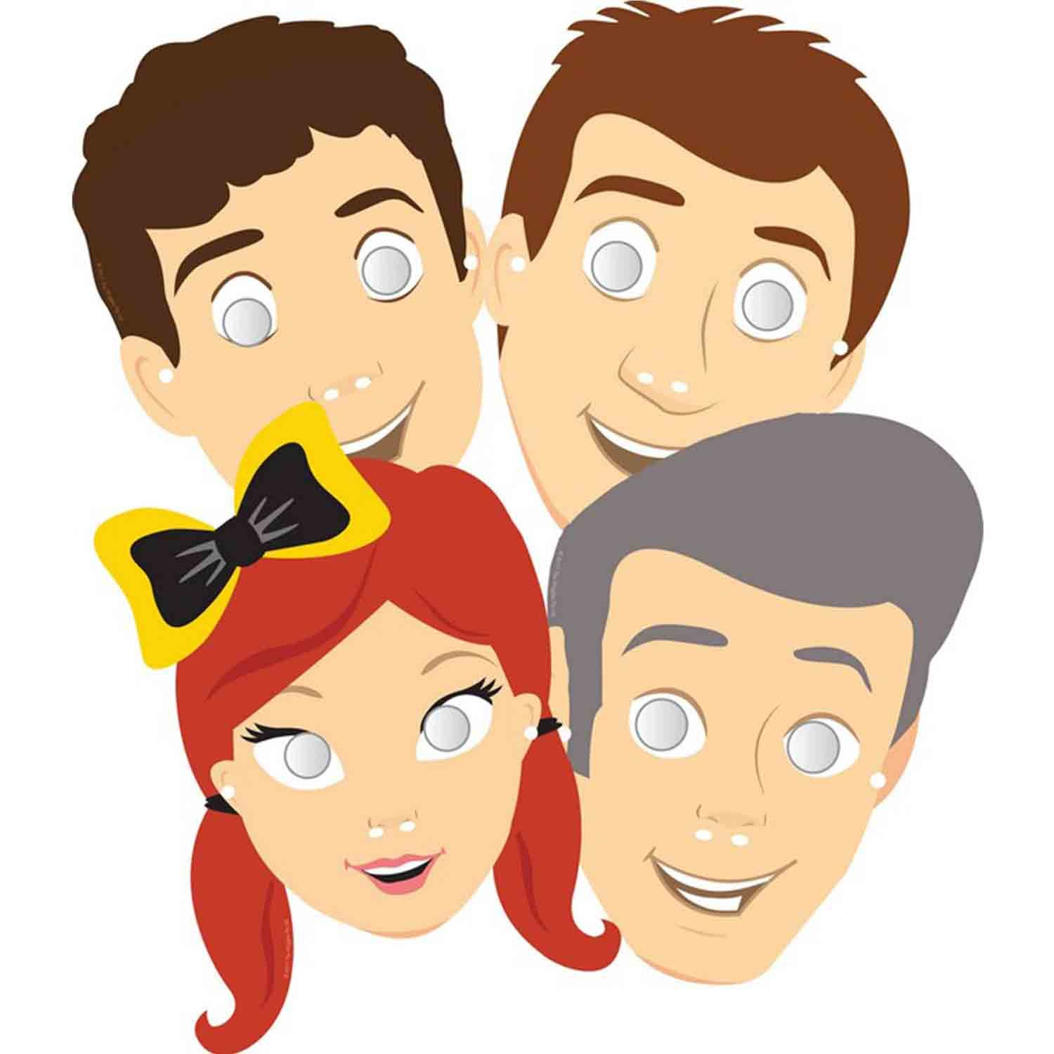 The Wiggles Masks