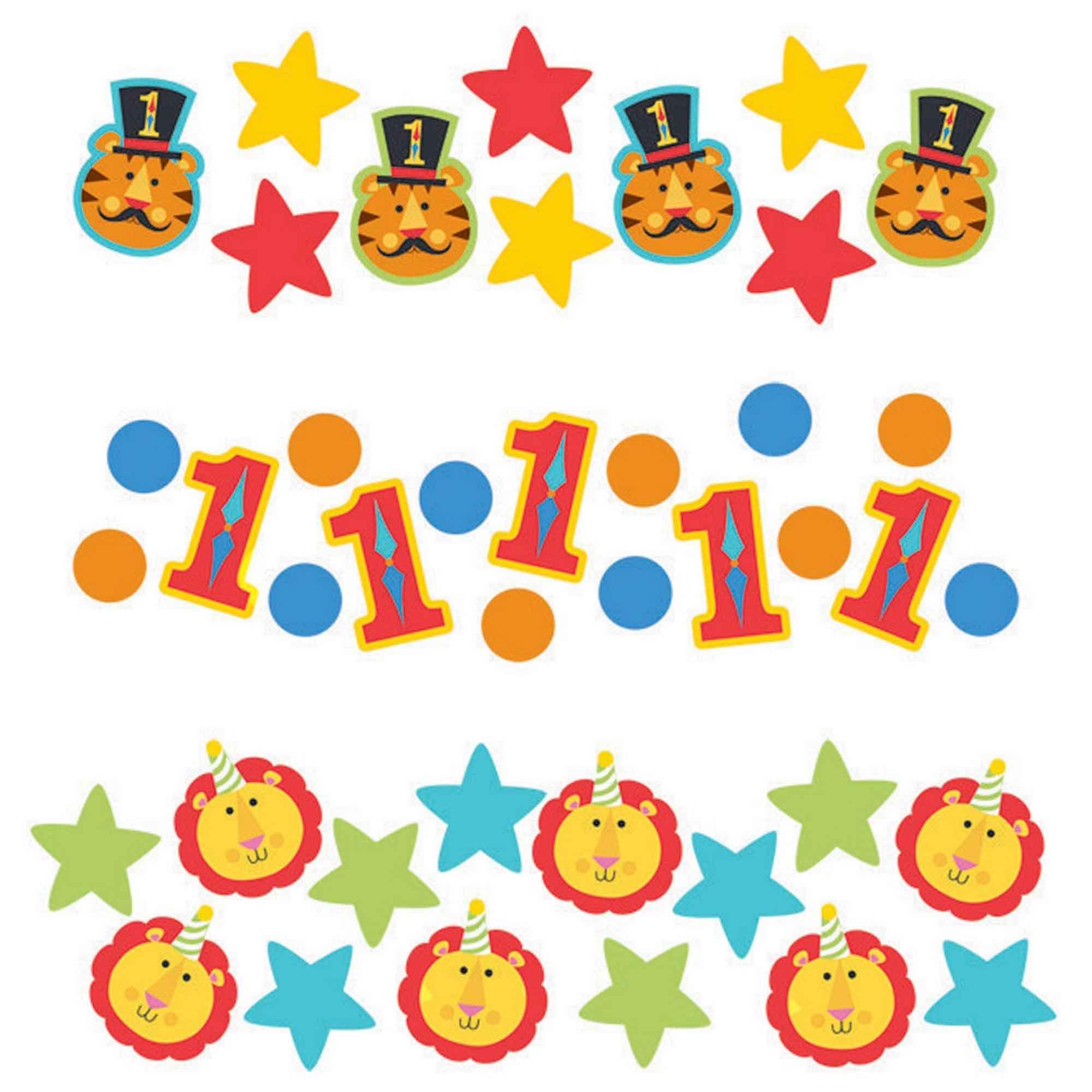 Fisher Price 1st Birthday Circus Confetti 34g