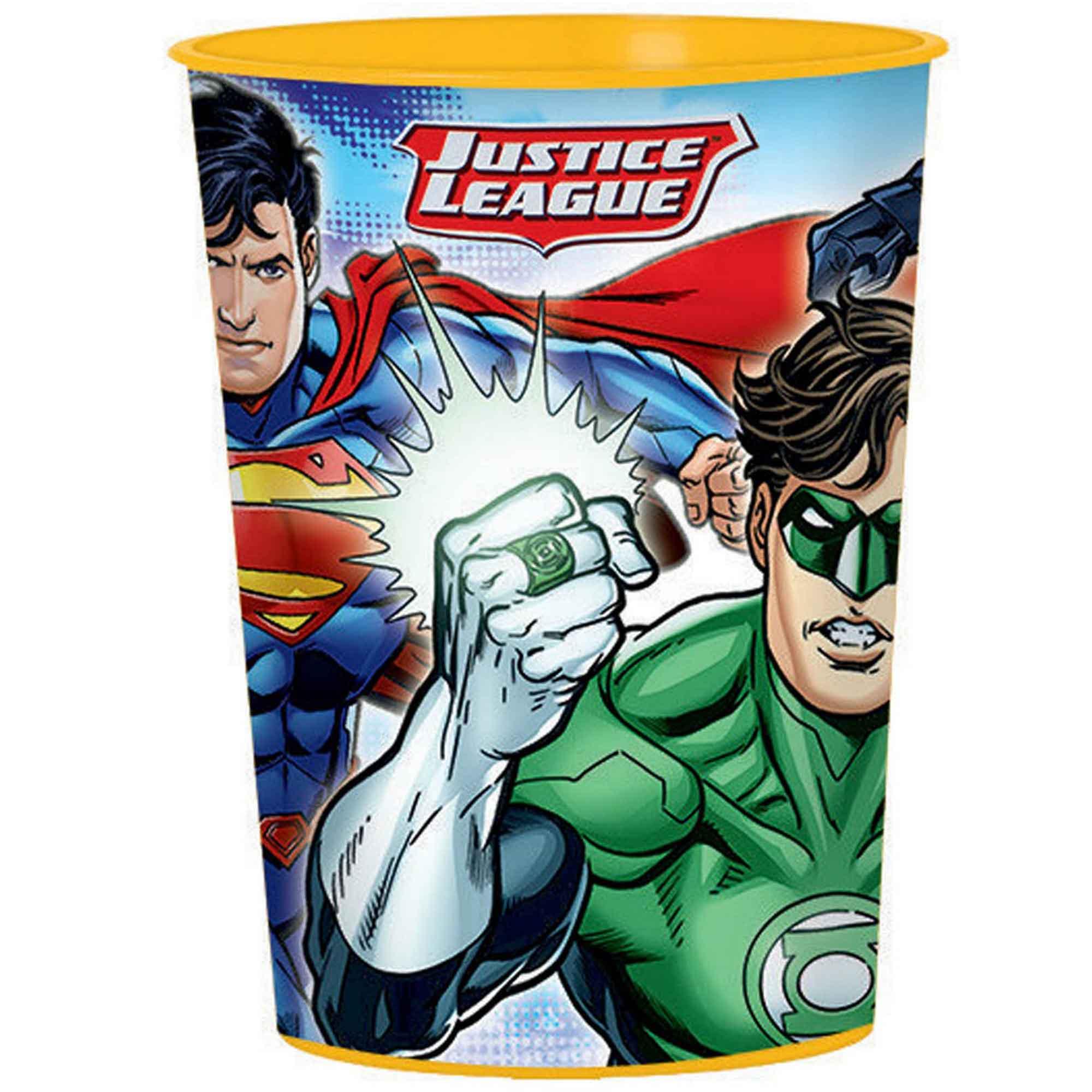 Justice League 473ml Favor Cup - Plastic