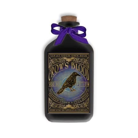 """""""""""""""Crow's Blood"""""""" Decorative Bottle"""