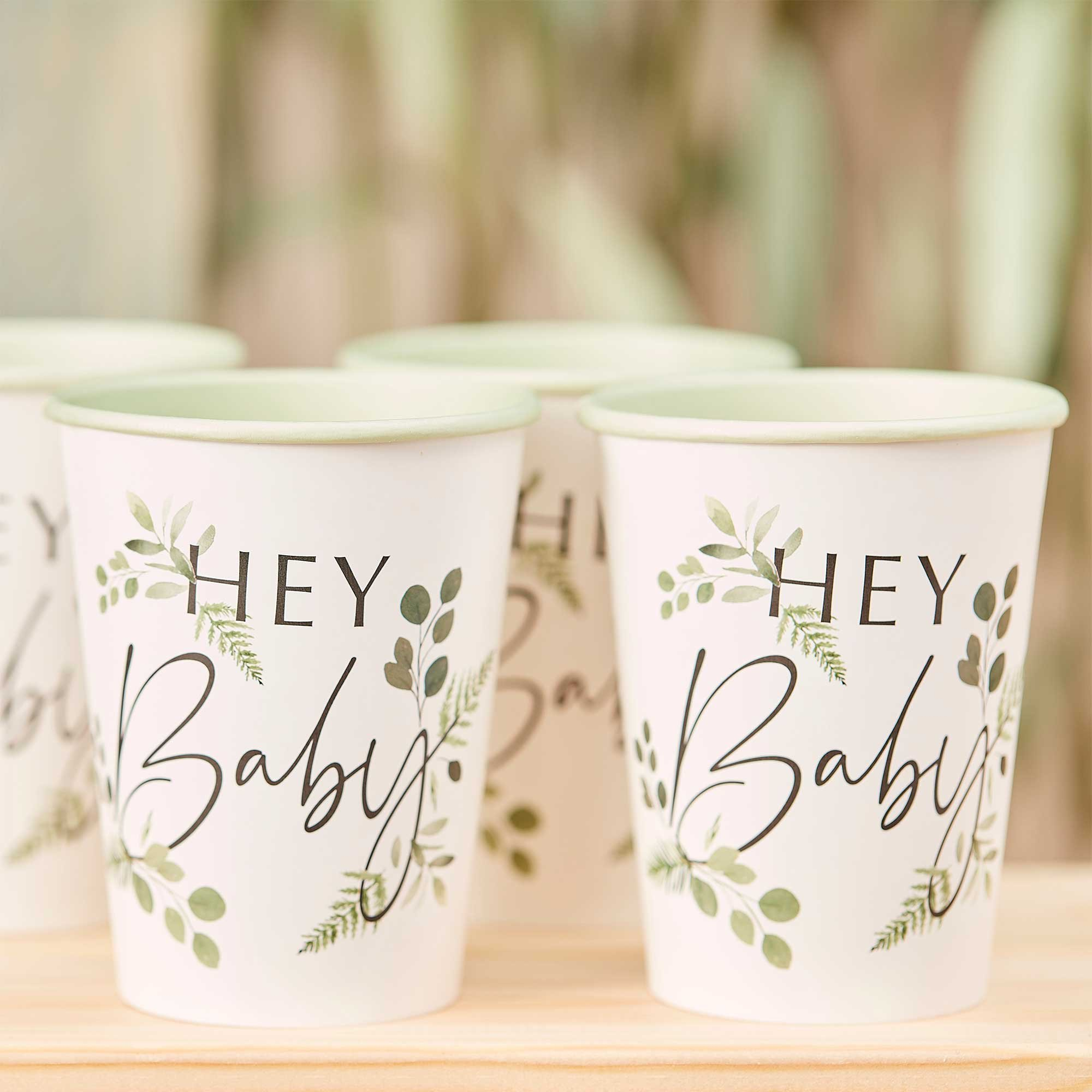 Botanical Baby Hey Baby Cups