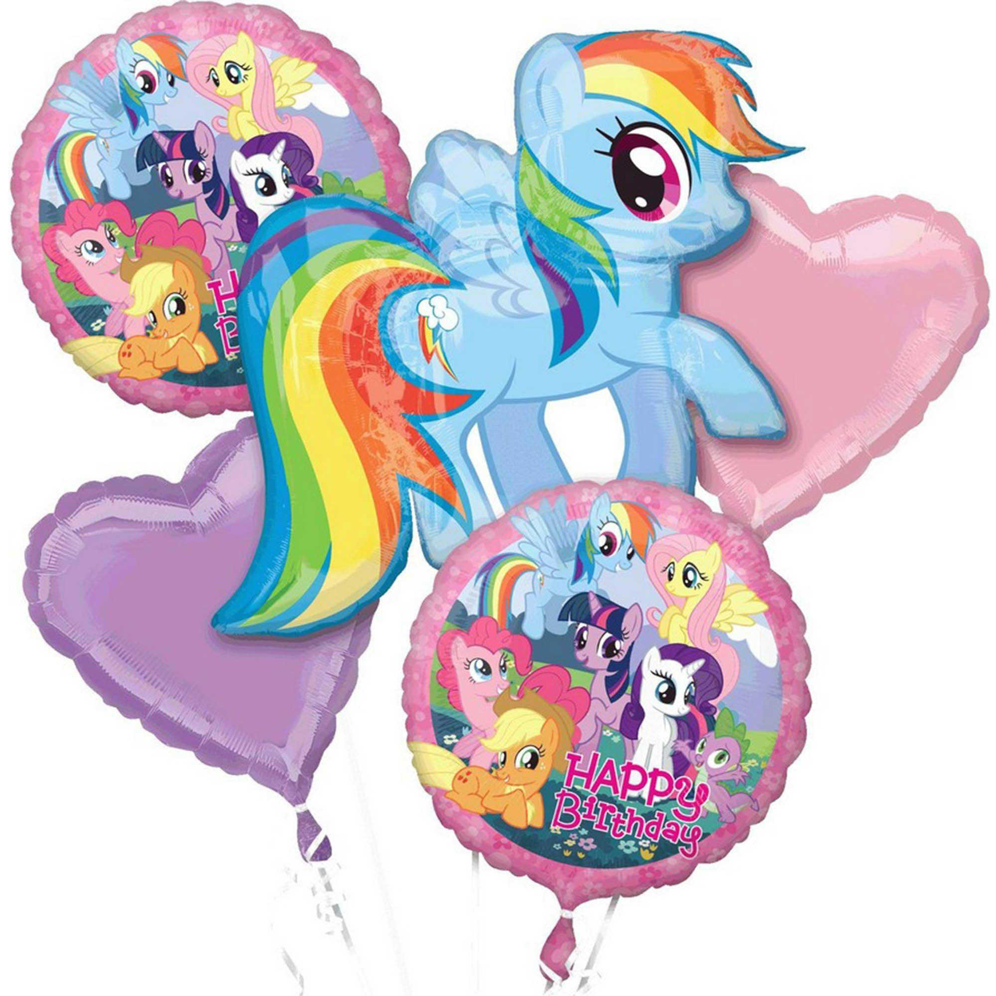 Bouquet My Little Pony Happy Birthday P75