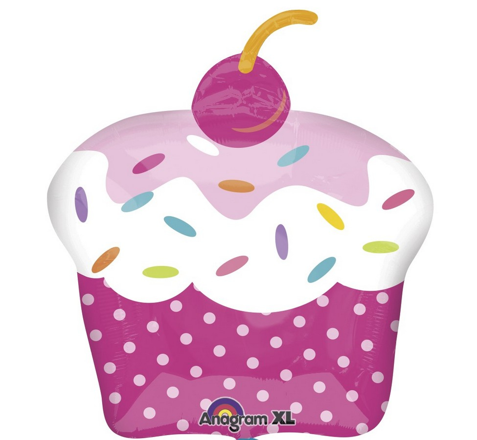 SuperShape XL Cupcake Party P35