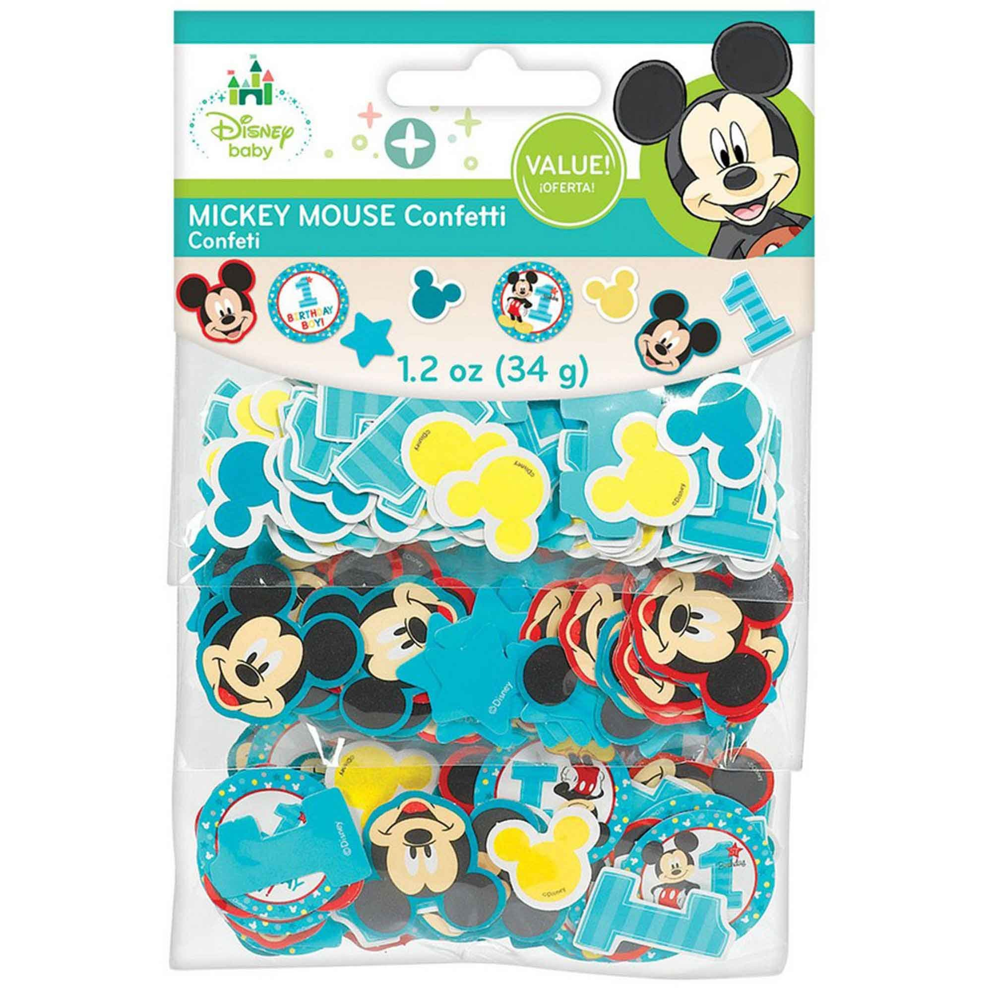 Mickey Fun To Be One Value Pack Confetti 34g - Paper
