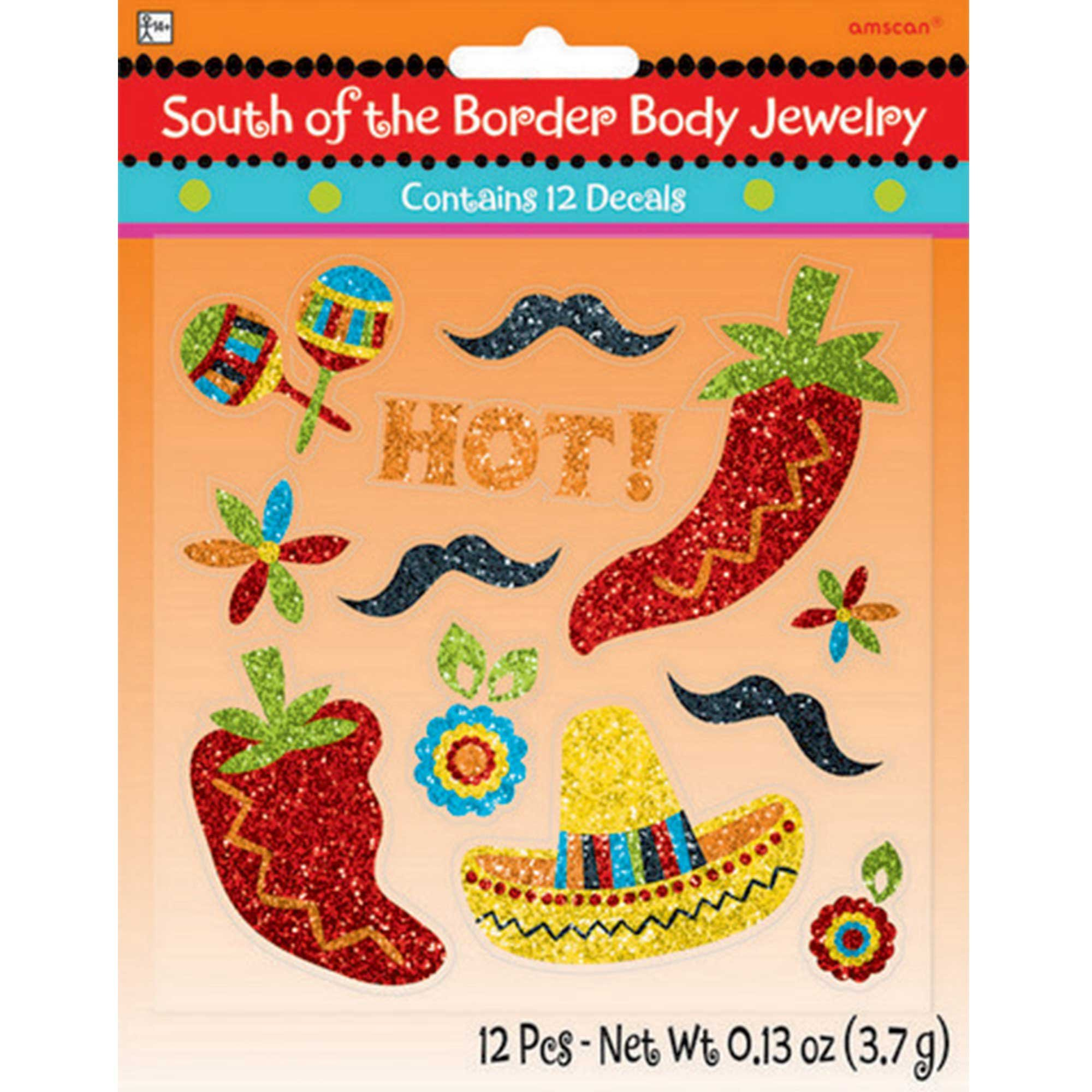 Fiesta South of the Border Body Jewelry