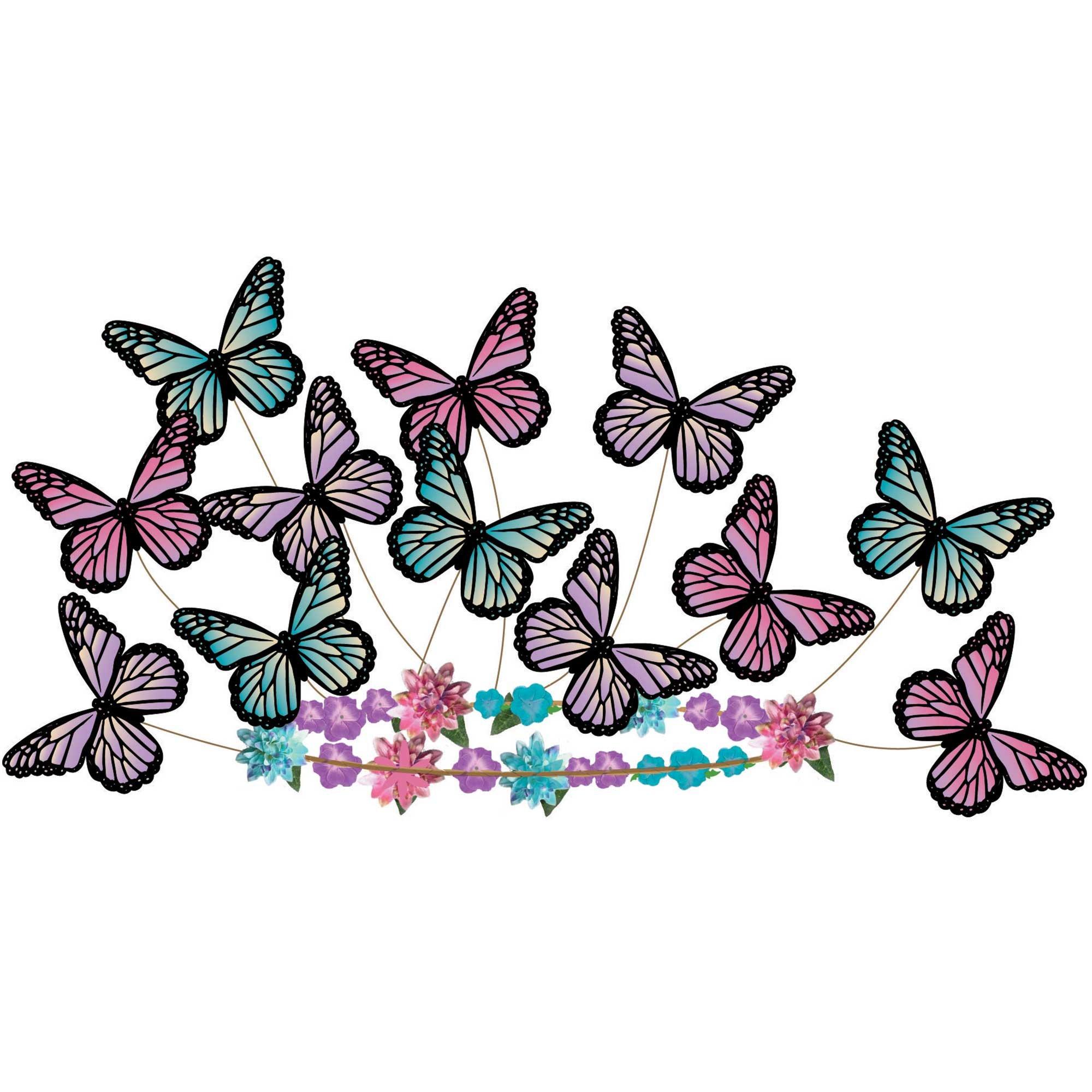 Butterfly Fantasy Headwreath