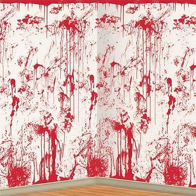 Backdrop Bloody Splatter Scene Setter